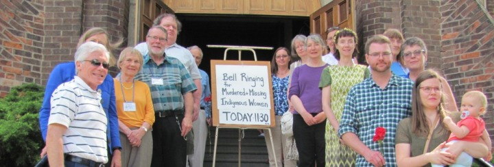 St Cuthbert's Church Rings Bells for Murdered and Missing Indigenous Women and Girls